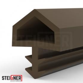 Burlete para puerta y ventana STD05 marrón