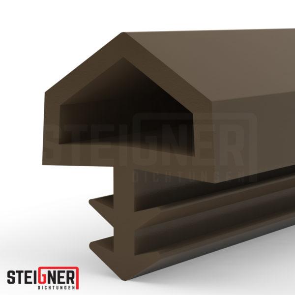 Steigner Burlete para puerta y ventana STD05 marrón