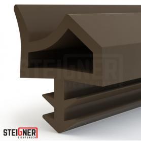 Burlete para puerta y ventana STD06 marrón