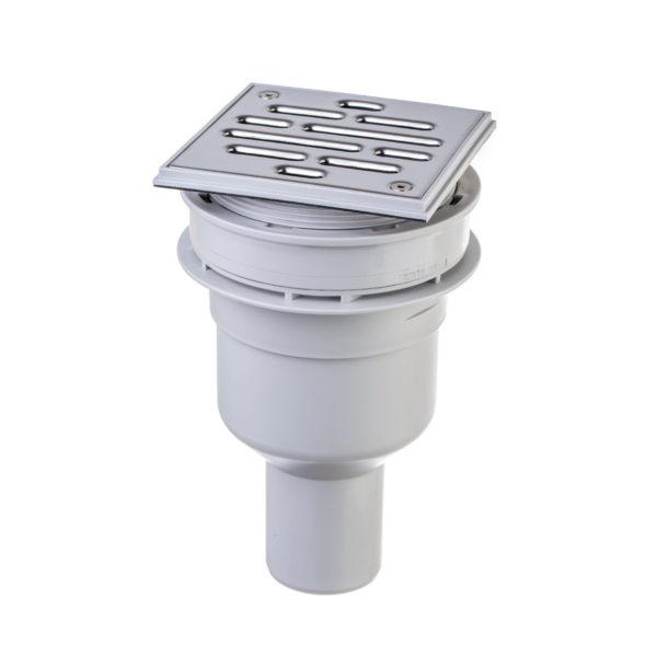Steigner Desagüe vertical con rejilla para plato de ducha
