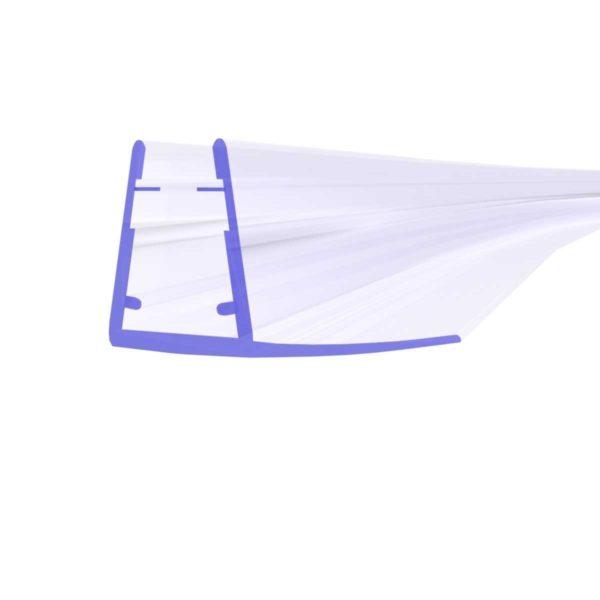 Steigner Junta para cabina de ducha curvada UK02 para vidrio de 6-8 mm de espesor