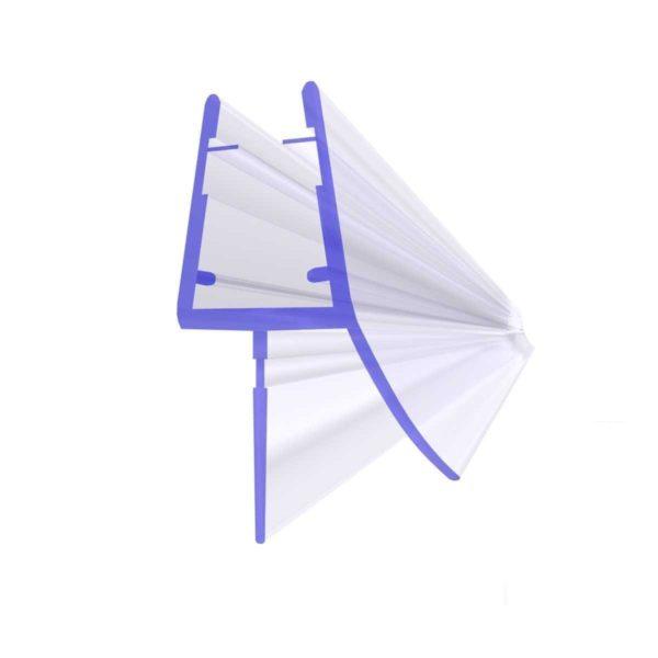 Steigner Junta para cabina de ducha UK03 para vidrio de 6-8 mm de espesor