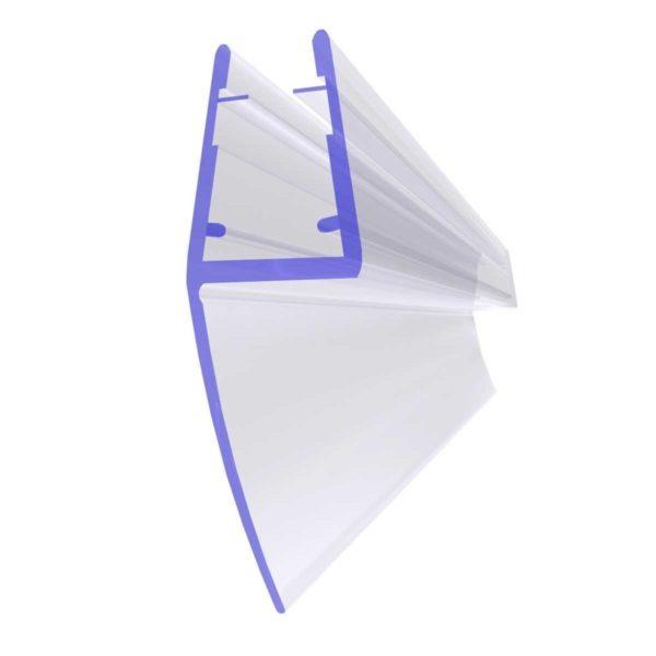 Steigner Junta para cabina de ducha UK05 para vidrio de 6-8 mm de espesor