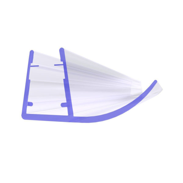 Steigner Junta para cabina de ducha UK14 para vidrio de 6-8 mm de espesor