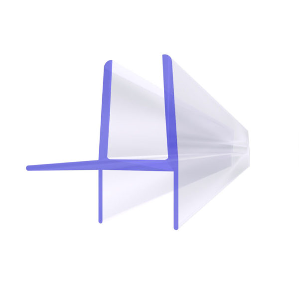 Steigner Junta para cabina de ducha UK16 para vidrio de 5-6 mm de espesor