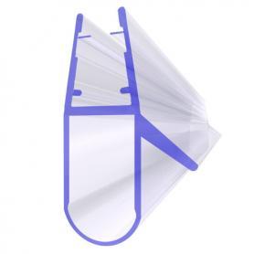 Junta para cabina de ducha UK17 para vidrio de 6-8 mm de espesor