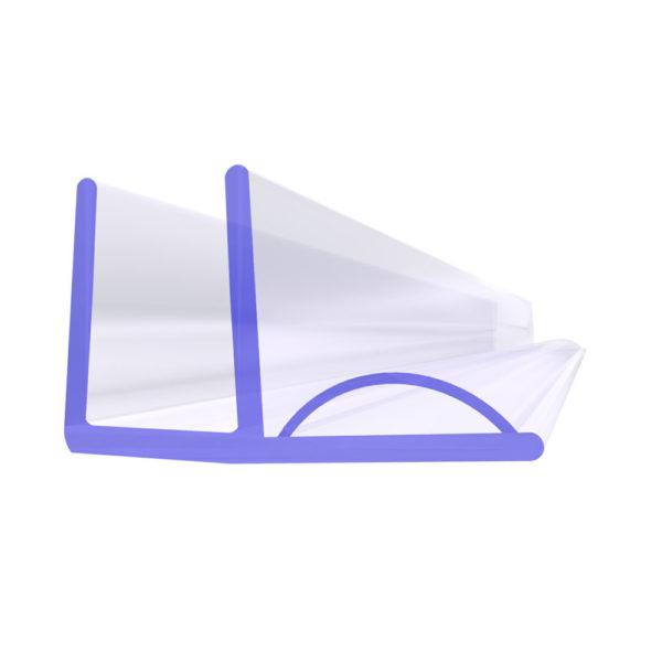 Steigner Junta para cabina de ducha UK19 para vidrio de 5-6 mm de espesor