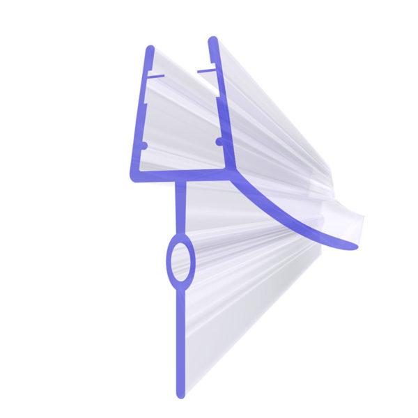 Steigner Junta para cabina de ducha UK22-08 para vidrio de 7-8 mm de espesor