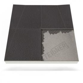 Plato de ducha Mineral BASIC para desagüe en pared