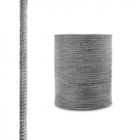 Cordón de fibra de vidrio SKD02 gris oscuro 10 mm