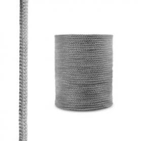 Cordón de fibra de vidrio SKD02 gris oscuro 12 mm