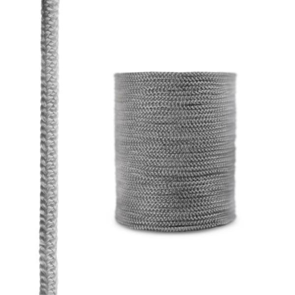 Steigner Cordón de fibra de vidrio SKD02 gris oscuro 12 mm