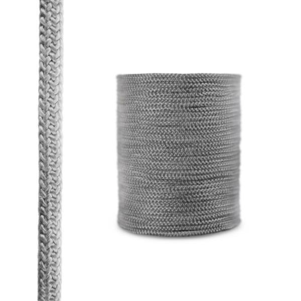 Steigner Cordón de fibra de vidrio SKD02 gris oscuro 14 mm