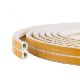 Junta de caucho SD-54 BLANCO celular perfil poroso para los coches