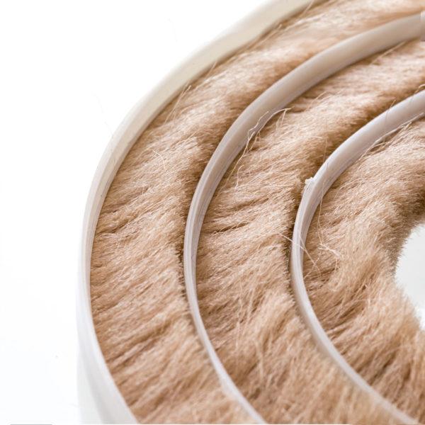 Steigner Junta de cepillos 11-12 mm beige