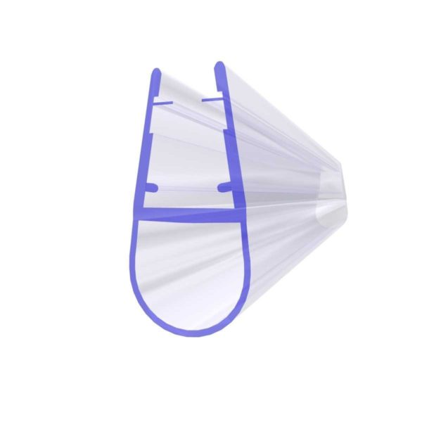 Steigner Junta para cabina de ducha UK07 para vidrio de 6-8 mm de espesor