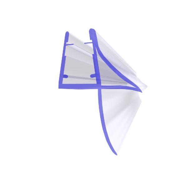 Steigner Junta para cabina de ducha UK09 para vidrio de 6-8 mm de espesor