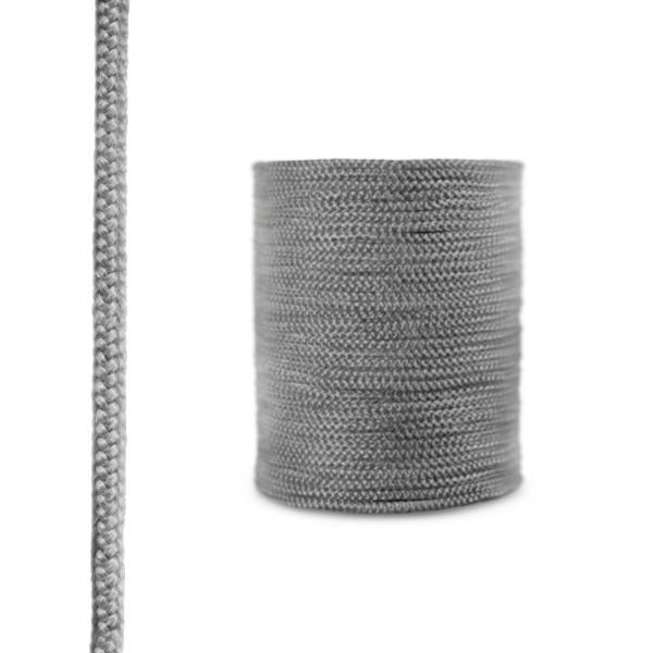 Steigner Cordón de fibra de vidrio SKD02 gris oscuro 8 mm